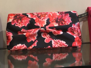Printed Bow Bag £35