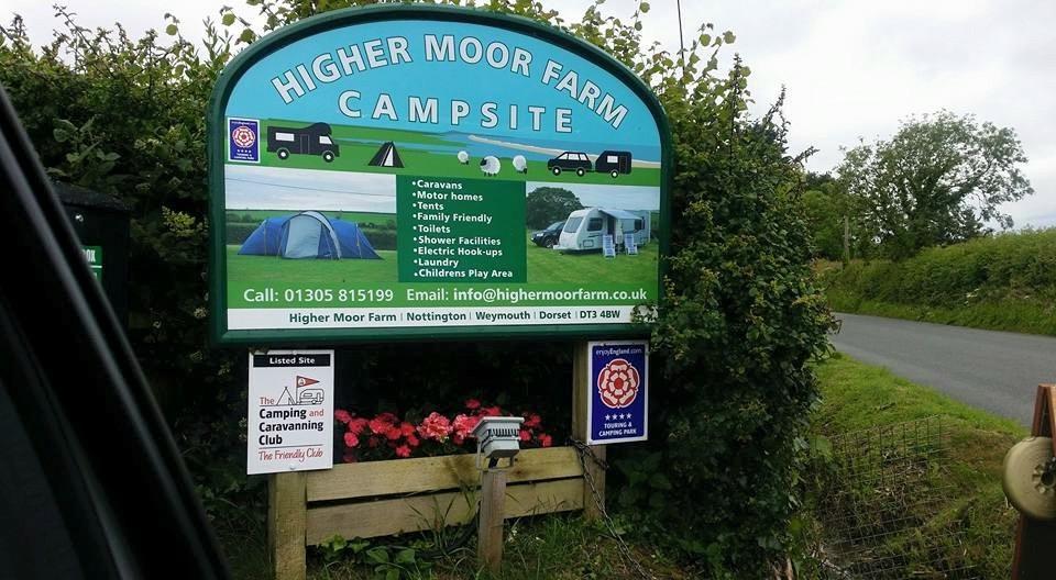 Higher Moor Farm Campsite