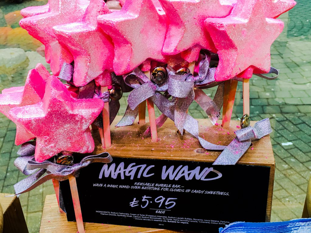Pink Magic Wand from Lush