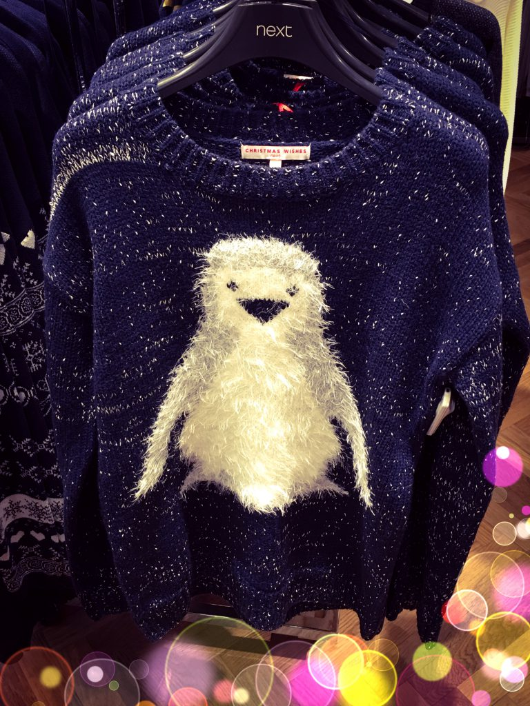 Penguin Christmas Jumper