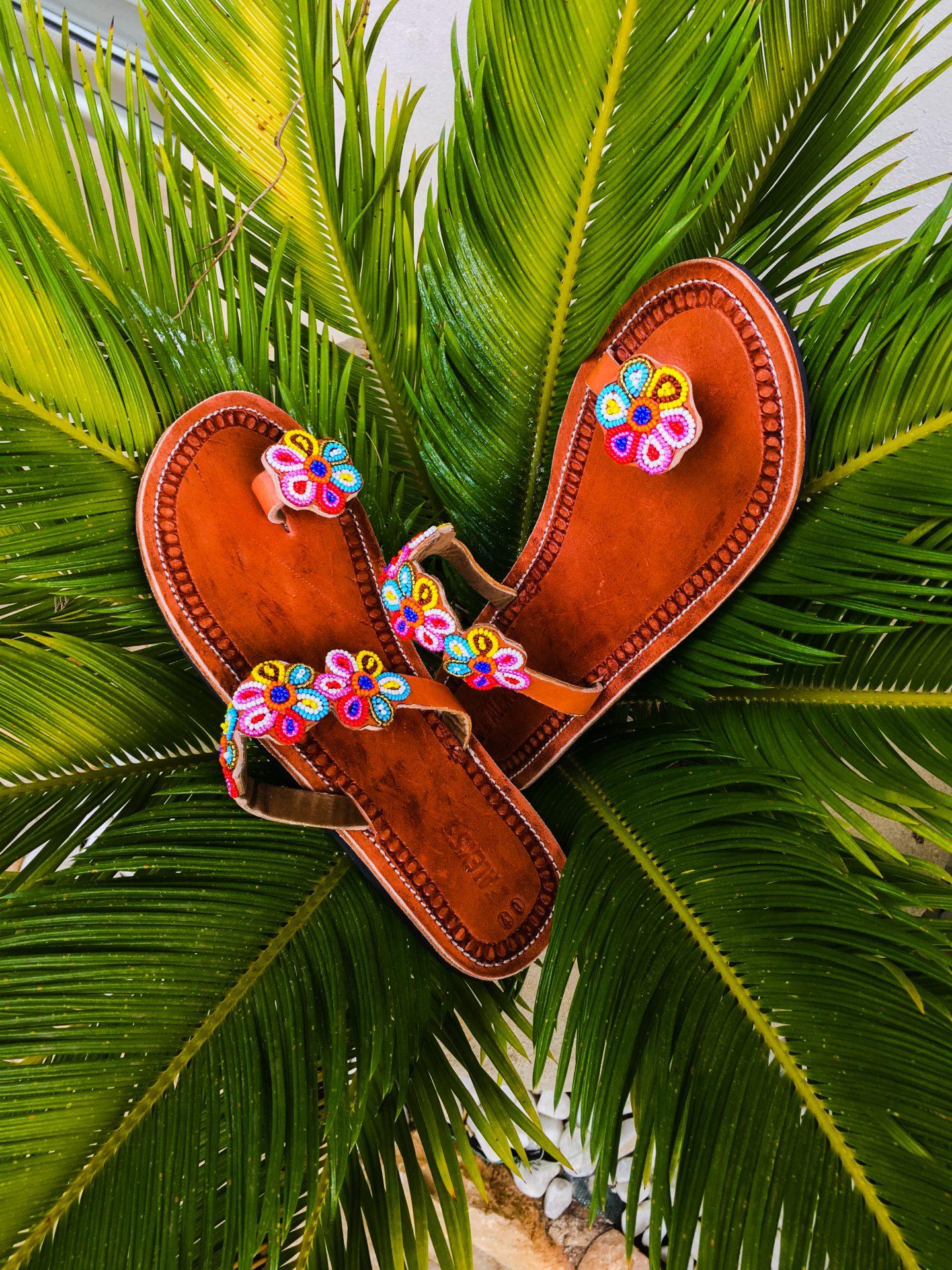 Beaded Maua Sandals