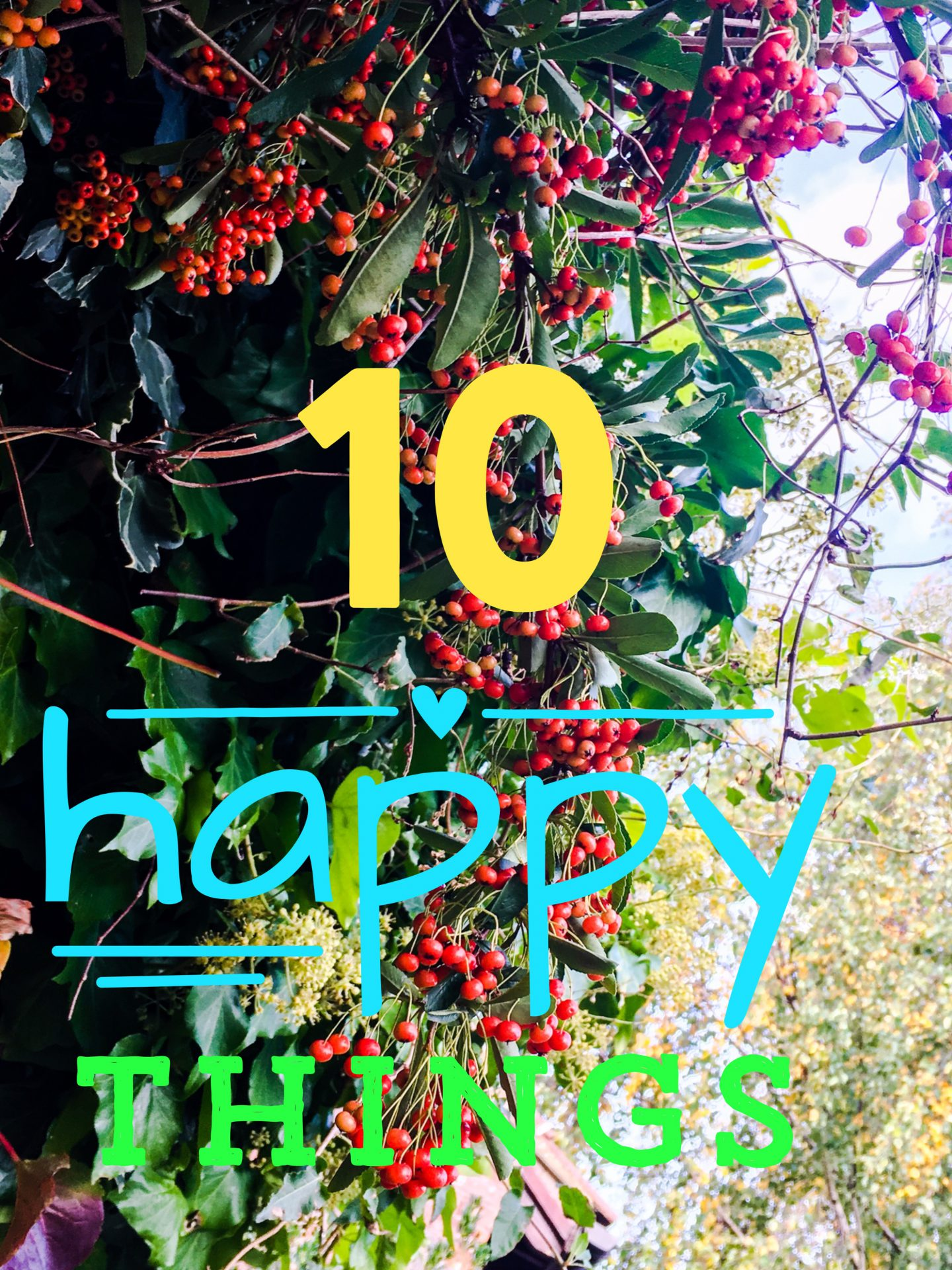 10 Happy Things Tag