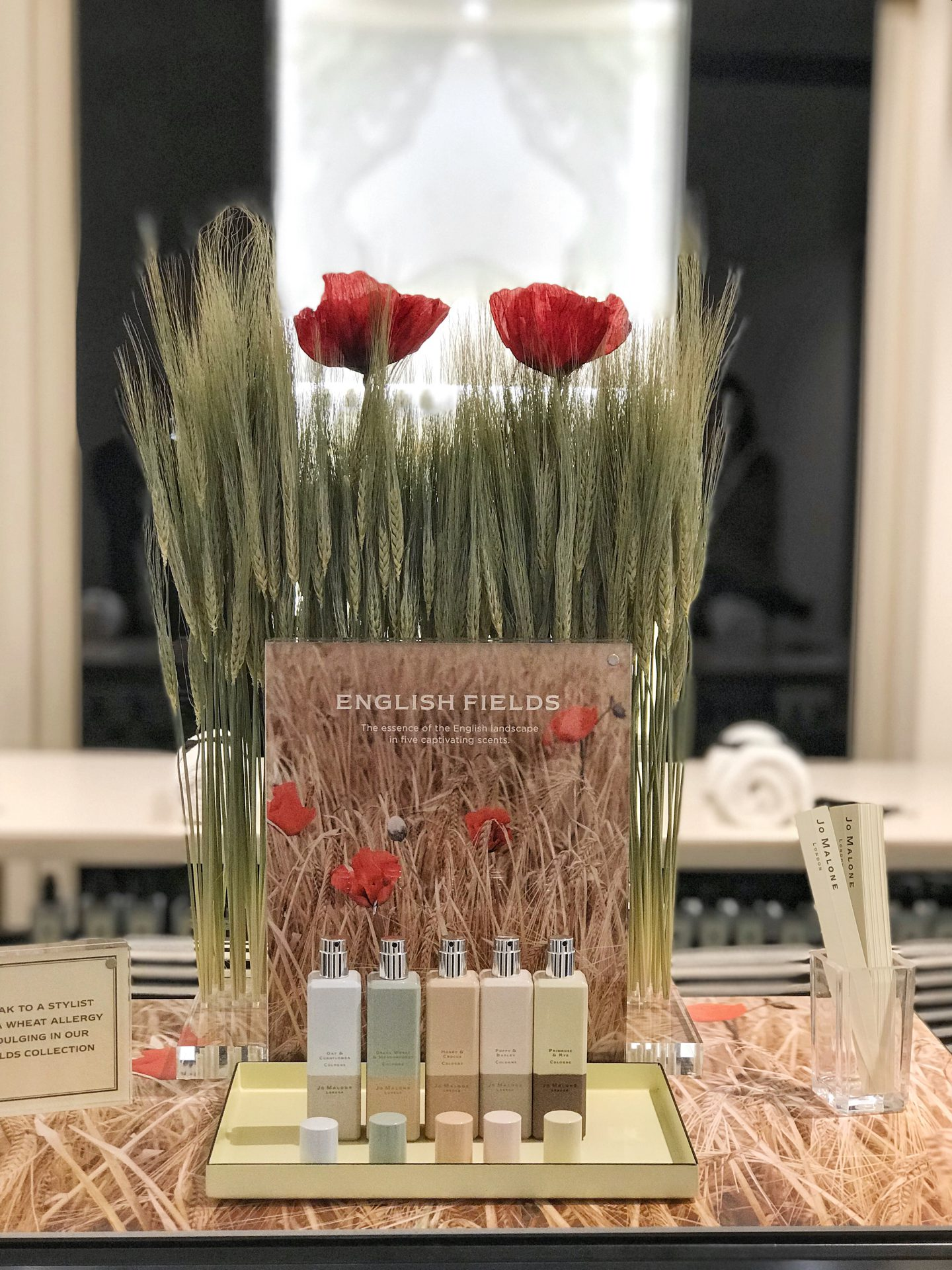 Jo Malone English Fields Launch 2018
