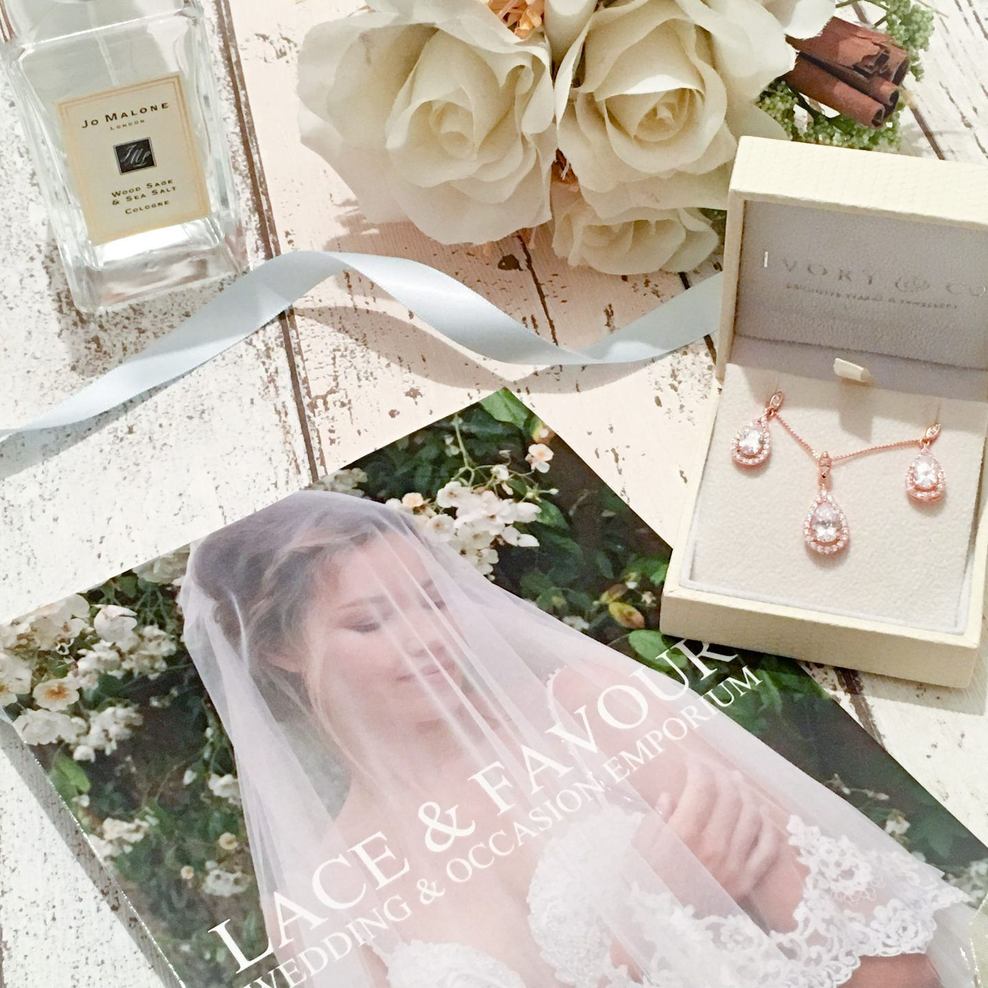 Lace & Favour | Rose Gold | Wedding Jewellery