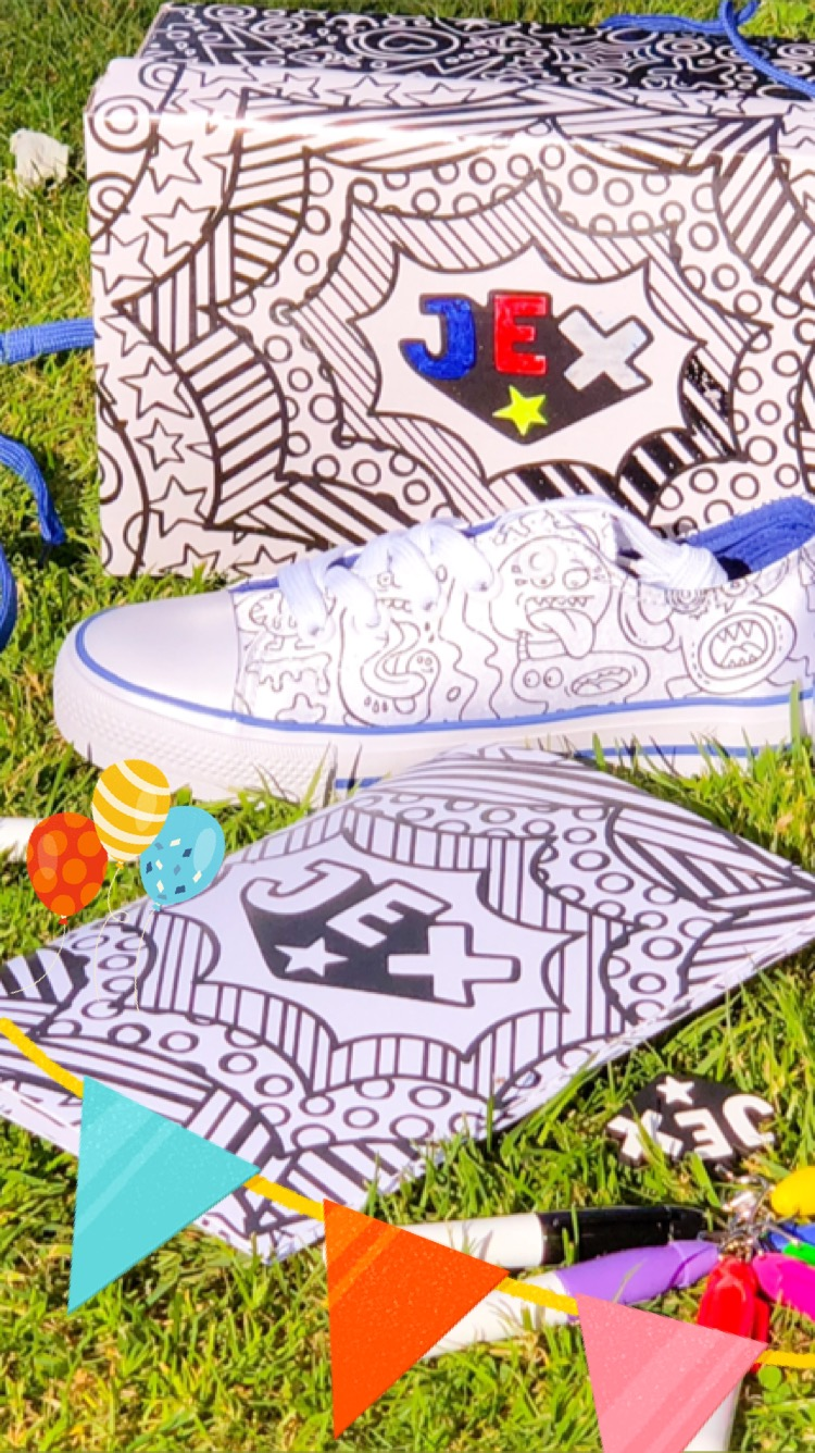 Unleash their creativity with JEX Shoes!