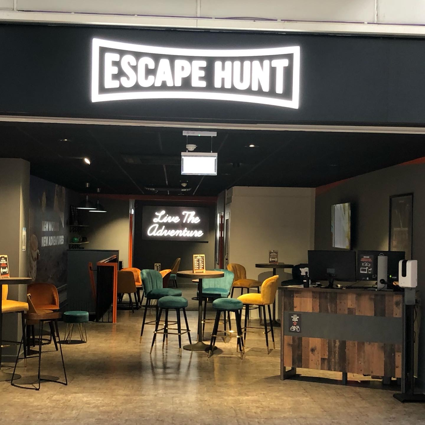 Escape Hunt Basingstoke: Operation Mindfall Review (Ad-gifted experience)
